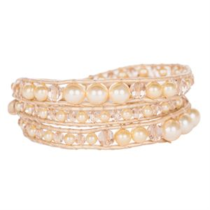 Picture of Golden Pearl Beaded Wrap
