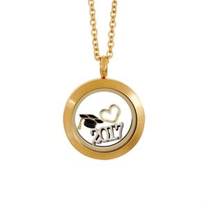 Picture of Golden Graduation Locket